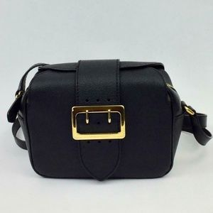 BURBERRY Small Buckle Leather camera Crossbody Bag